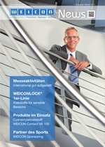 corporate magazine WEICON News 2012